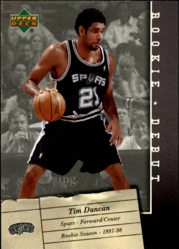 2006 Upper Deck Rookie Debut Basketball Rookie Card (2005-06) #85 Tim - Card Debut 2005 Rookie