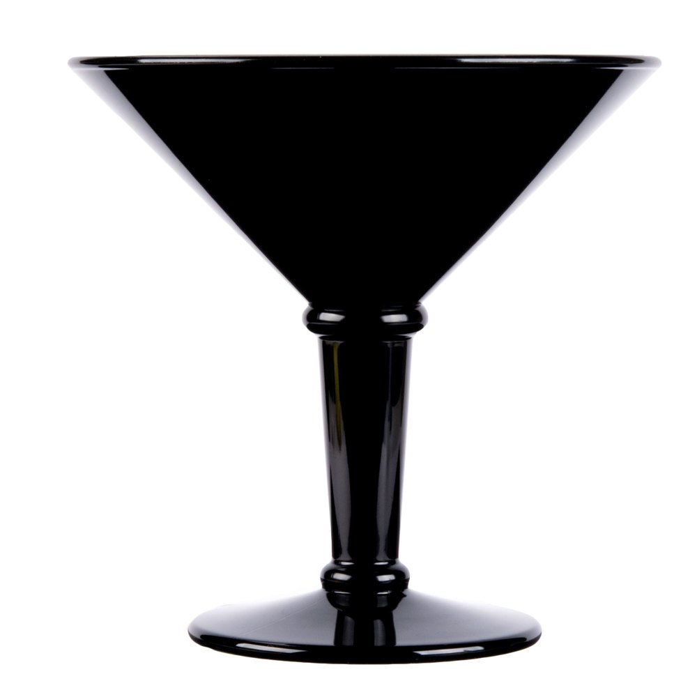 GET SW-1419-BK 48 oz. Black Super Martini Glass - 3/Case by GET SW (Image #2)