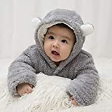 XMWEALTHY Unisex Baby Cloth Winter Coats Cute