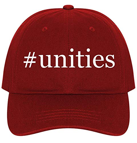 - #Unities - A Nice Comfortable Adjustable Hashtag Dad Hat Cap, Red