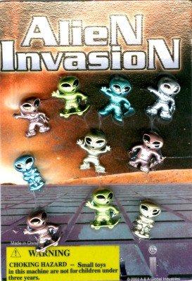 Alien Invasion Vending Capsules
