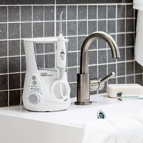 51TKBDtV0nL - Waterpik Water Flosser Electric Dental Countertop Oral Irrigator for Teeth - Aquarius Professional, WP-660/660C, White