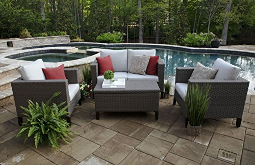Canopy Home and Garden DPS6000LAU Seating Set, Gray For Sale