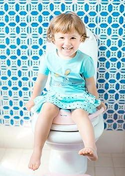 Cane /& Gatto Allenamento Toilette Sedile Bimbo Bambino Bambina Vasino Sicuro Anti-scivolo Allenamento