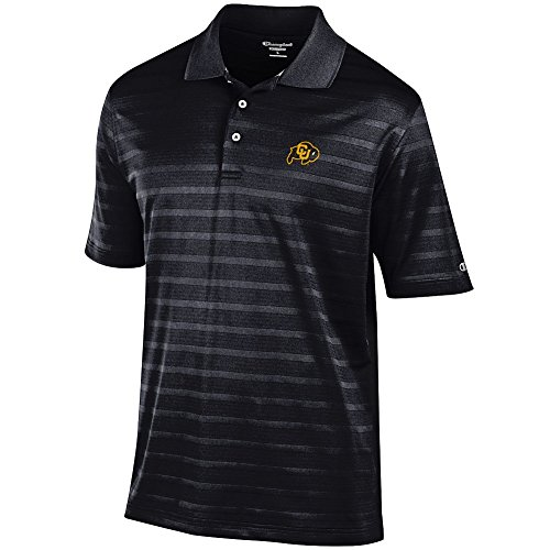 (Elite Fan Shop Colorado Buffaloes Polo Black - XL)