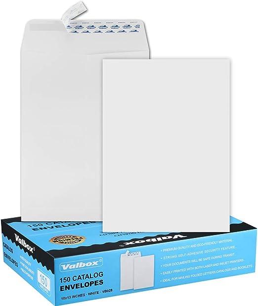 25-9x12 Kraft Brown Self Seal Catalog Envelopes with Peel Mailing Organizing