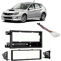 Fits Subaru Impreza WRX 2008-2011 w/o OE NAV SDIN Harness Radio Dash Kit