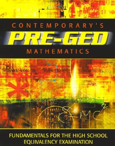 Contemporary's Pre-Ged: Mathematics (Contemporary's Pre-GED Series)
