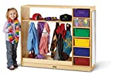 Jonti-Craft 0909JC Dress-Up Storage – with Colored Tubs