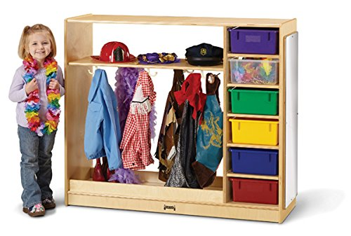 Jonti-Craft 0909JC Dress-Up Storage – with Colored Tubs