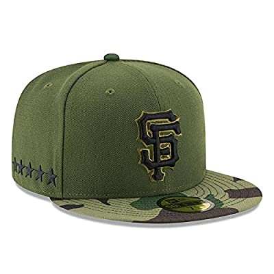 San Francisco Giants New Era 2017 Memorial Day 59FIFTY On Field Fitted Hat