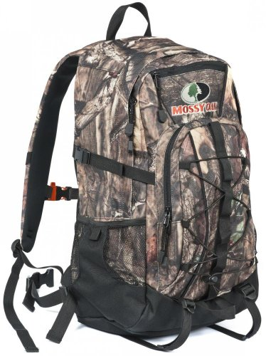 Mossy Oak Silver Leaf 2 Day Pack, 20.5 x 12.5 x 8, Mossy Oak Infinity