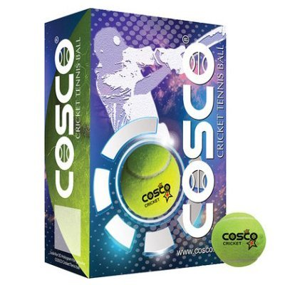 Cosco Rubber Cricket Ball, Pack of 6 by Unknown