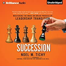 Succession: Mastering the Make-or-Break Process of Leadership Transition