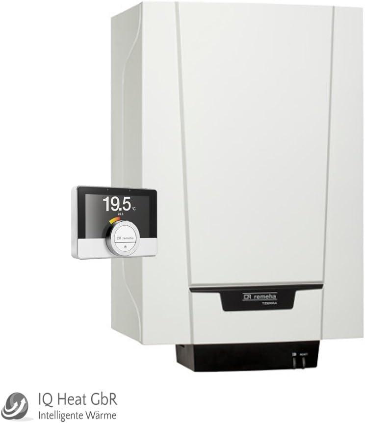 Remeha Tzerra 28C etwist de gas combinada de condensación Therme WW Calefacción Calentador 7649473