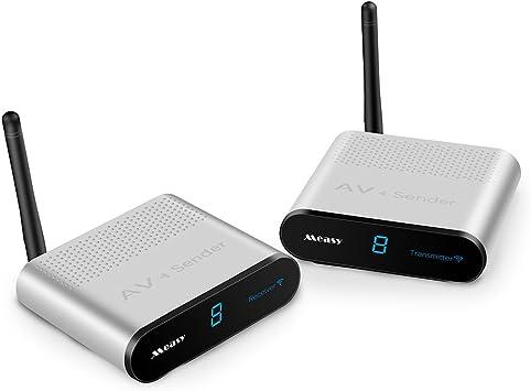 Measy 2 4 Ghz Wireless Av Sender Und Empfänger Av220 Elektronik
