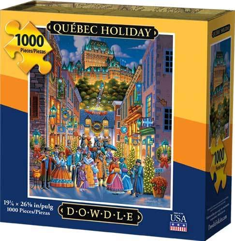 Dowdle Jigsaw Puzzle - Quebec Holiday - 1000 Piece ()