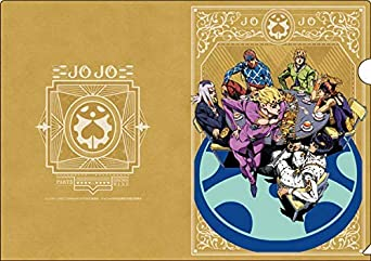 TVアニメ「ジョジョの奇妙な冒険 黄金の風」 クリアファイル B