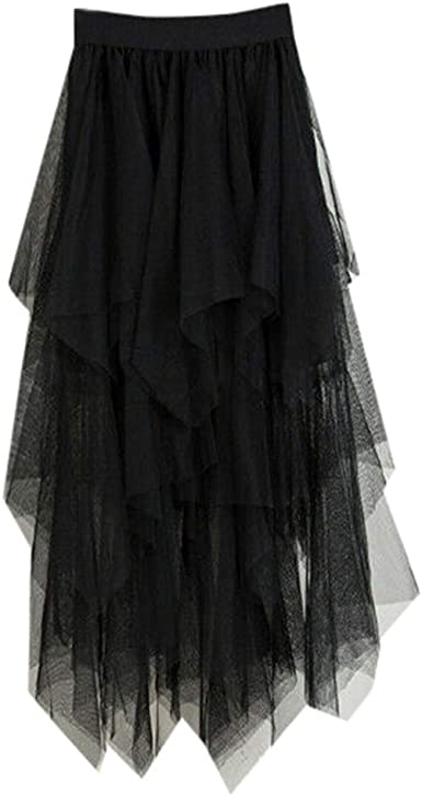 Sayla Faldas Mujer Verano Fiesta Sexy Elegante Tutu Moda Largo ...