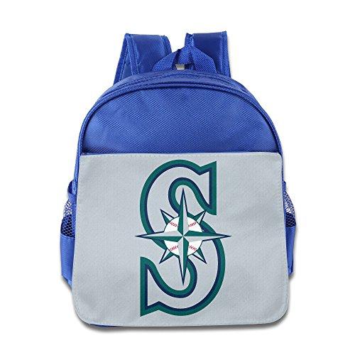 NNTBJ Seattle Mariners Backpack Kids School