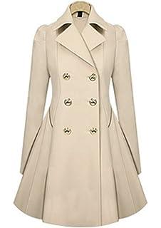 Damen mantel schwarz elegant