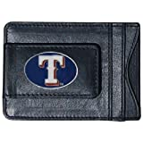 MLB Texas Rangers Leather Cash and Card Holder