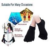 AMAREY Toe Socks - Five Finger Socks, Running