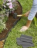 Easy No- Dig, Pound-in, Interlocking Landscaping