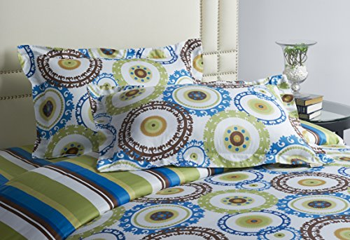 Jennifer Taylor Home, 3-Piece Duvet Set, Multicolored