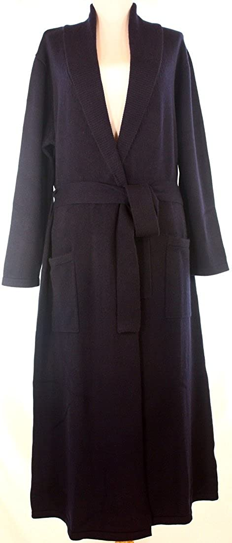 ddee238275 Shephe 4 Ply Women s Classic Cashmere Robe with Full Length at Amazon  Women s Clothing store