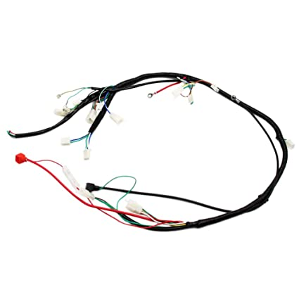 Amazon Com Engine Wire Loom Wiring Harness Wireloom For Gy6 125cc