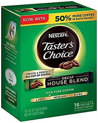 Nescafe Taster's Choice Regular House Blend Instant Coffee, Single Serve Sticks - 1.9 oz - 18 Packets by Nestle