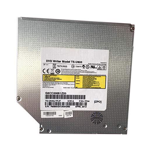 - Yaxinglinan Compatible with Replacement for SU208 SU-208 Laptop DVD Optical Drive 8X DVD Burner 9.5mm Super Slim Internal SATA Drive DVD Writer (SU208)