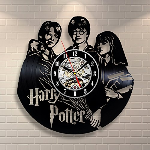 Harry Potter Hermione Granger Movies Vinyl Record Clock Home Design Room Art Decor Handmade Vintage by Vinyl Evolution