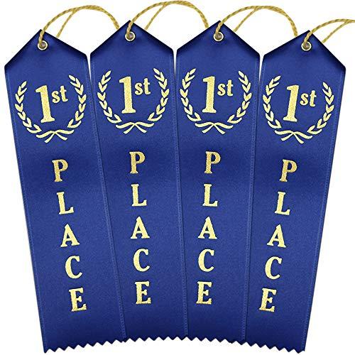 1st Place Award Ribbons - Bulk 100 Pack ()