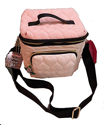 Betsey Johnson Cargo Insulated Lunch Bag Tote - Blush