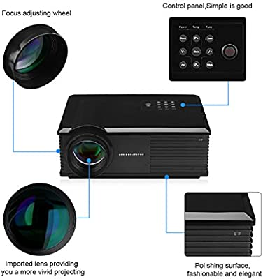 Excelvan PH580 - HD Proyector LED 1280x800 (5.8