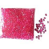 Table Crystals Lot de 4000 diamants en acrylique pour décoration de table Rose