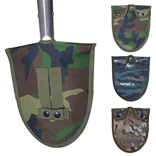 Adealink Oxford Cloth Handle Shovel Cover Army Camouflage Military Tool Kit -
