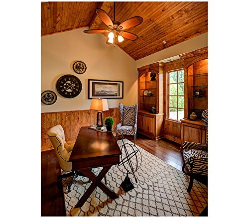 Hunter Ceiling Fan Gold 54015 Crown Park 54'' with Light, Tuscan Gold (Desk Fan Included) by Hunter (Image #5)