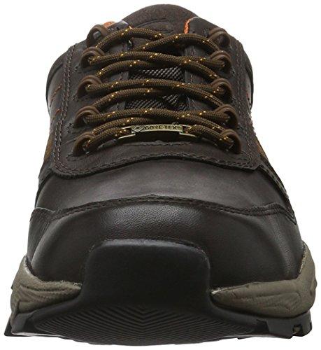 camel active Evolution Gtx 20, Zapatos de Cordones Oxford para Hombre Marrón (mocca/timber 03)