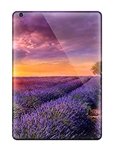 Jesus Hutson castillo's Shop Awesome Case Cover/ipad Air Defender Case Cover(sunrise Over The Flower Field)