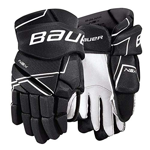 Bauer NSX Hockey Gloves (13 Inch - Black)