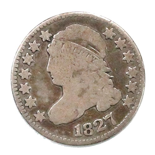 - 1827 Capped Bust Dime Dime Fine
