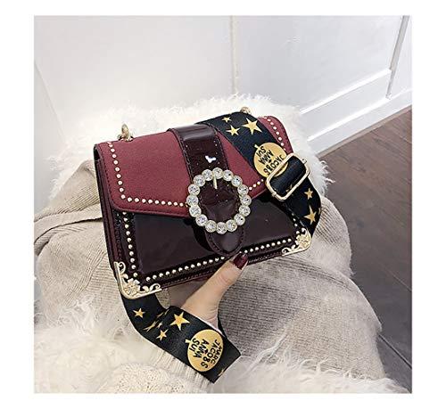 un Sac en carré à Redwall® pour bandoulière dans à bandoulière cuir Sac bracelet pour femme femme qRRUwpz4