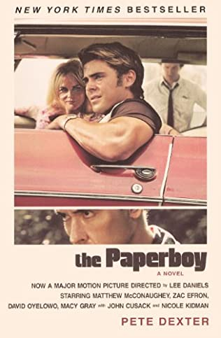 book cover of The Paperboy
