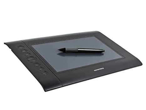 Amazon com: Monoprice 10 x 6 25-inch Graphic Drawing Tablet