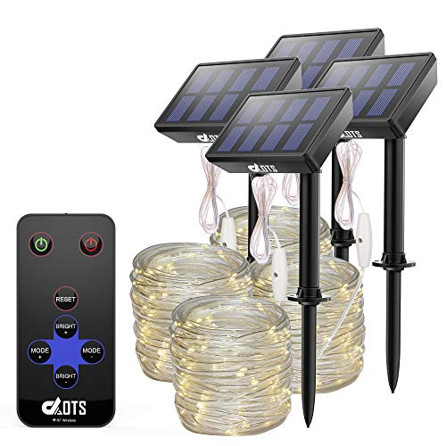 Solar 100 Led White Rope Lights in US - 2