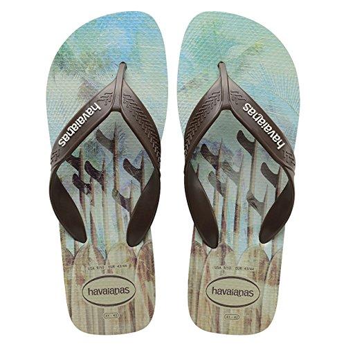 Havainas Havaianas Unisex Flip Flop Logo Brazil Beach Sandals - Flip Flop Havaianas Surf Areia 4Y1cZrN