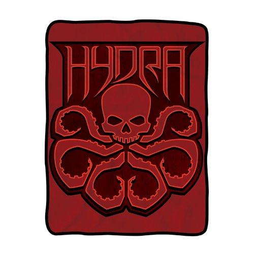 Agents of SHIELD Hydra Fleece Throw Blanket